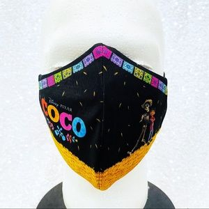 pixar coco adult face mask